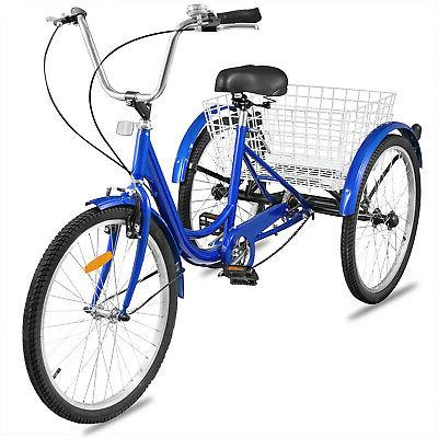 Adult Tricycle 3 Shopping Bicycle Large