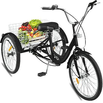 1 Speed Trike Cycling Basket