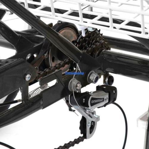 """24"""" 3-Wheel Backrest Cruiser"""