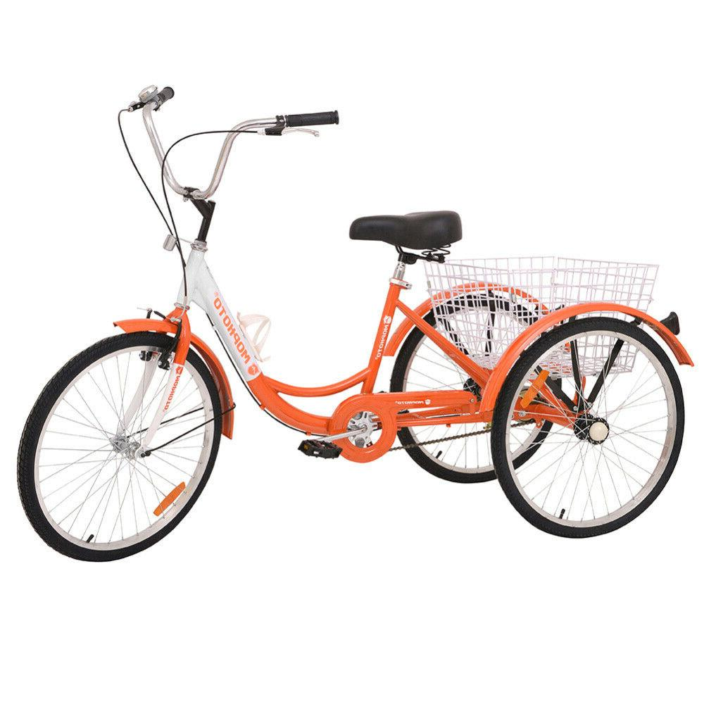 Kid 14/16inch 20inch 24/26inch 3Wheel Tricycle 1/7Speed Bike