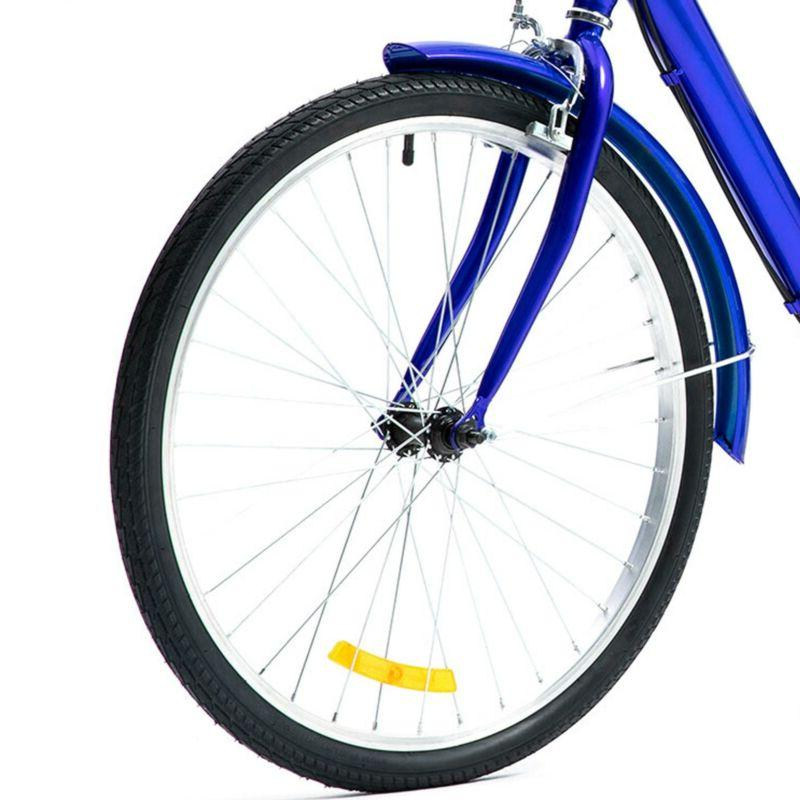 24 Trike 8 Speed Tricycle Bike Shopping Blue