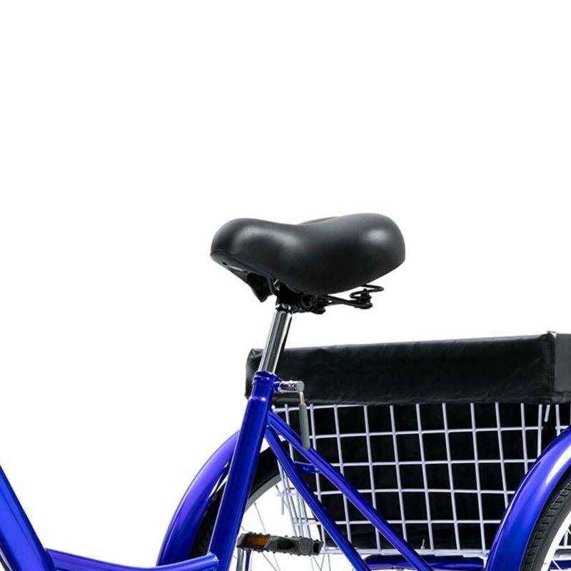 24 Trike Speed Adult Bike Shopping Blue