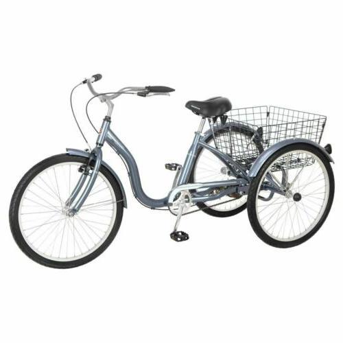 """Schwinn 24"""" Meridian Adult Tricycle,"""