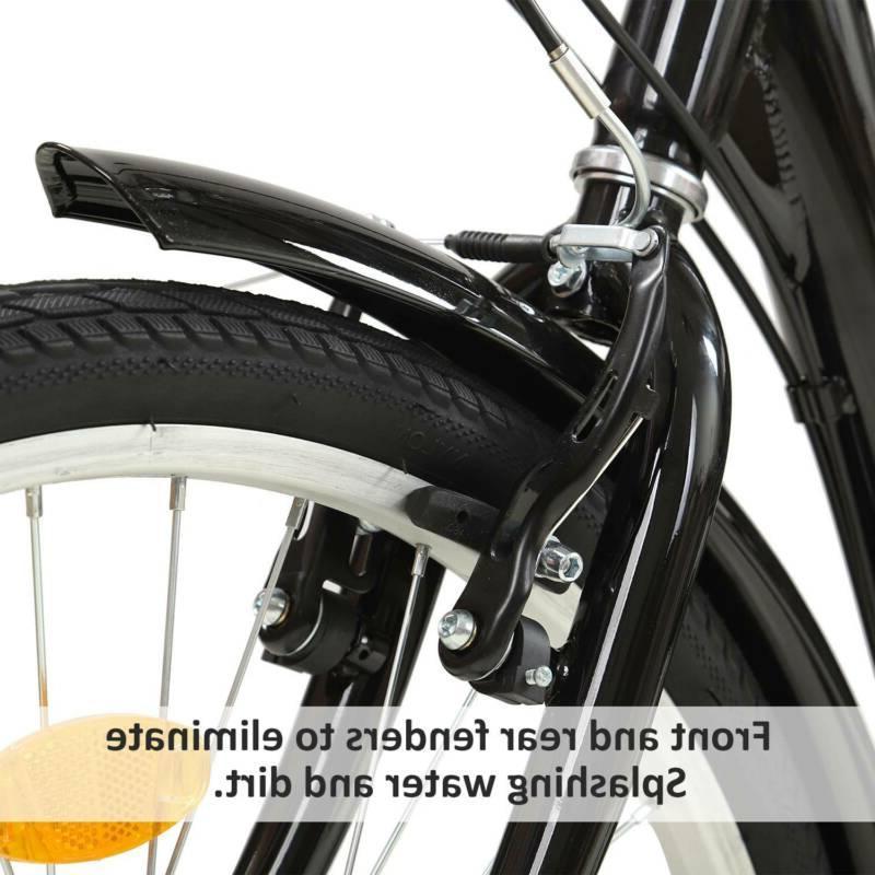 """Pro 24""""/20"""" 7 Adult Trike Tricycle Bike w/Basket"""