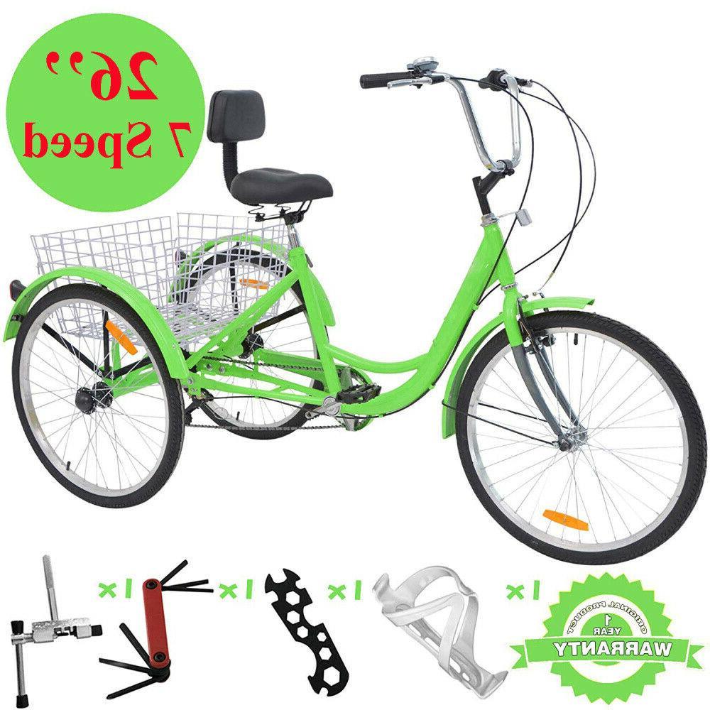 26'' Wheel Trike for
