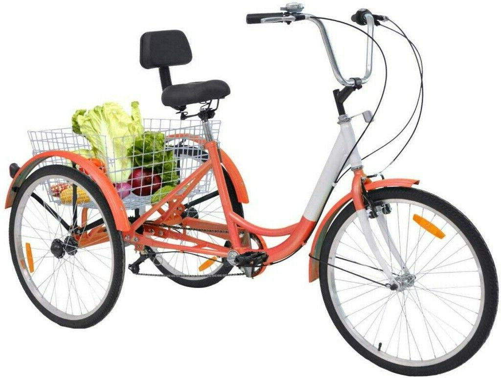 26'' Wheel Adult Cruise Trike for