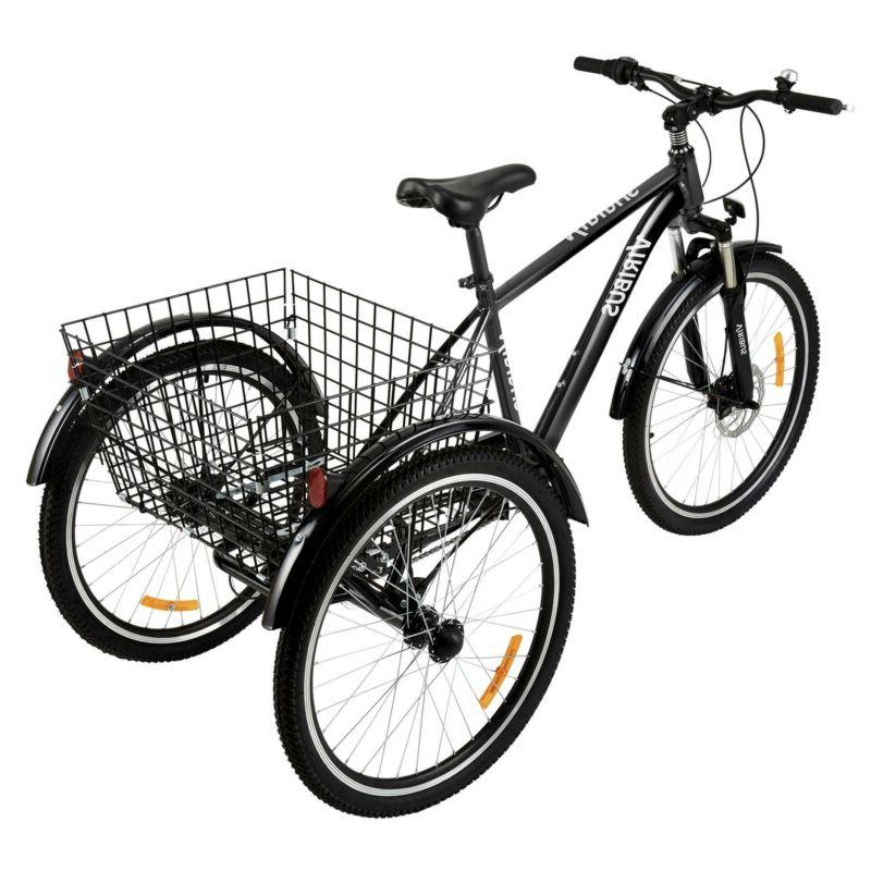 "26"" Three-Wheel Mountain Basket Men Women"