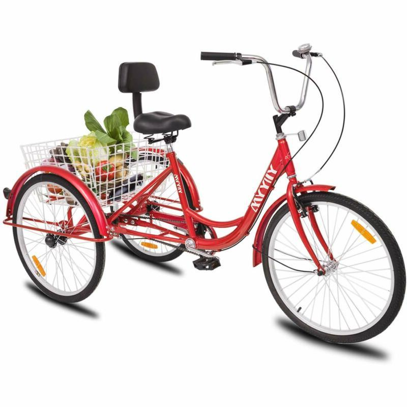 "26""Adult Cruise W/Basket Adjustable Seat"