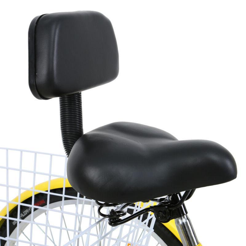"""Ridgeyard 24/26"""" 7-Speed Trike Bike"""