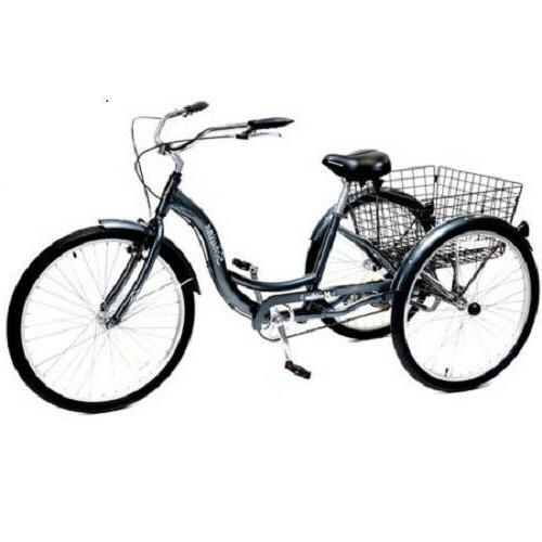 """26"""" Meridian Tricycle, Adult Riding"""