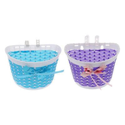 2Pcs Bicycle Basket Childs/Kids for