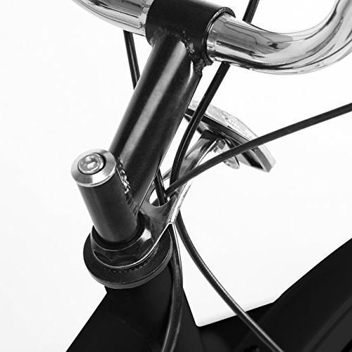 """Ridgeyard 24"""" 3 Wheel Pedal Tricycle Bicycle Trike Bike w/Shopping Basket"""