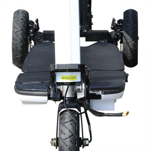 3 Wheel Tricycle Foldable 3-Speed Electric Scooter