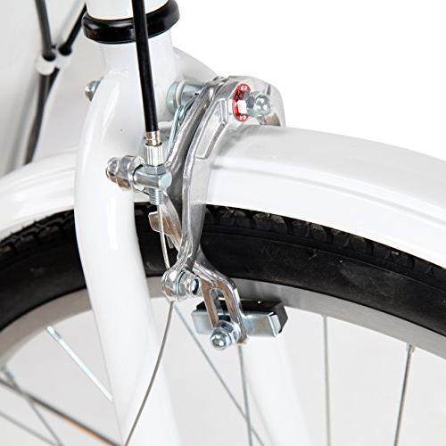 Iglobalbuy 24-Inch Adult Trike Bike Cruise Basket