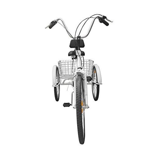 Iglobalbuy Adult Bike Cruise Bike Basket
