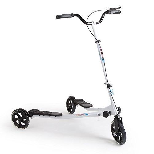 3 wheels scooter push swing