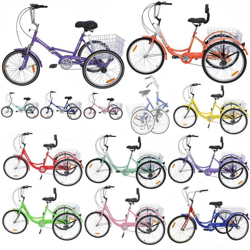 3 wheels trike 24 adult tricycle 1