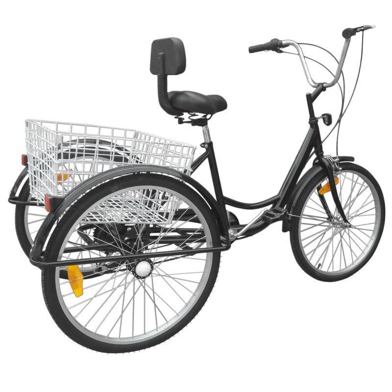 Ridgeyard 26inch Tricycle Basket