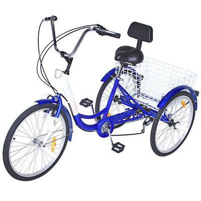3 wheels trike 24 adult tricycle 7