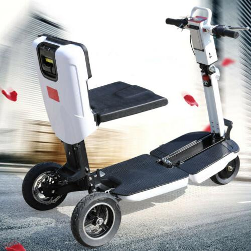 foldable electric e scooter 3 wheel mobility