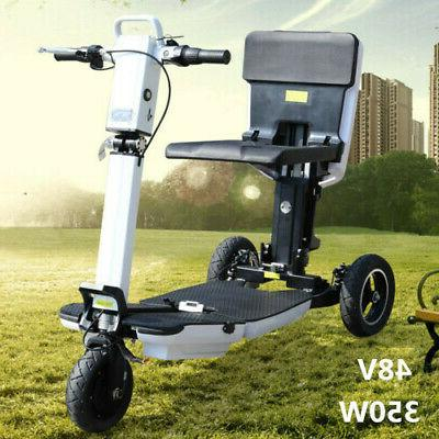 3speed scooter 3wheel foldable electric tricycle outdoor