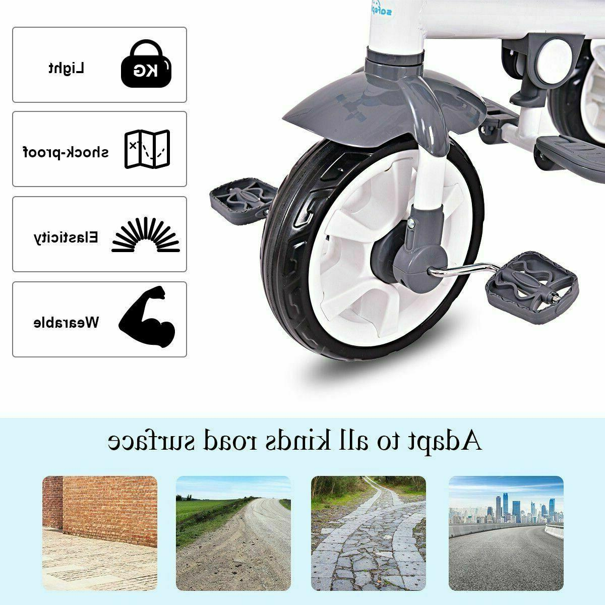 4-in-1 Detachable Tricycle Canopy