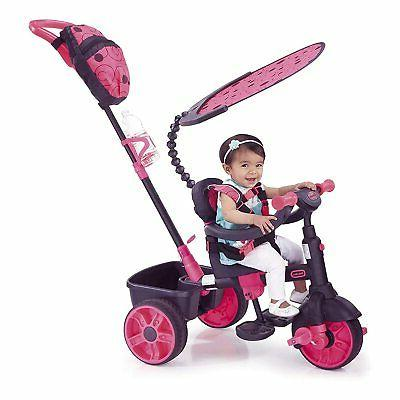 4 in 1 ride on neon pink