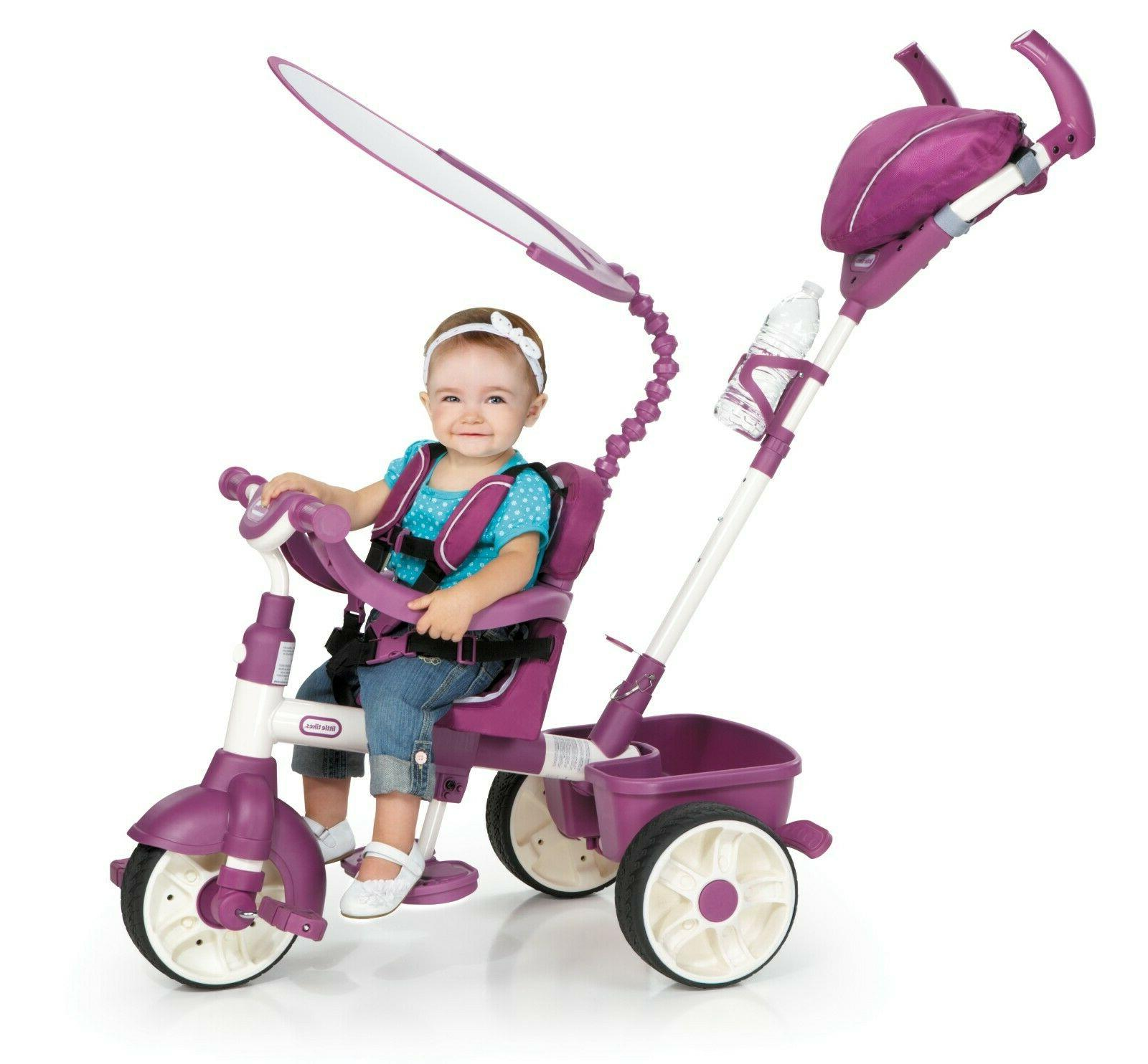 4 in 1 sports edition trike pink