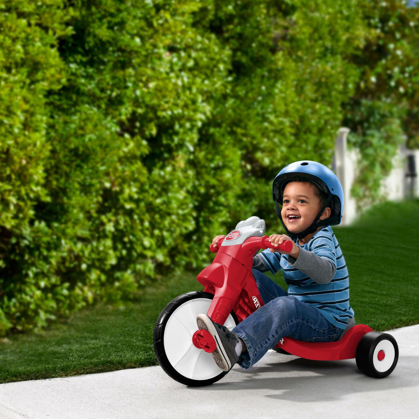 Radio Flyer 402 Radio With Lights Tricycle Red