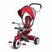 Radio Flyer 481Z 4-in-1 Stroll 'N Trike Tricycle - Red