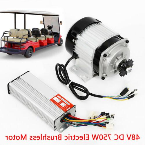 Electric scooter Brushless Motor 48V 750W Tricycle Motor + C