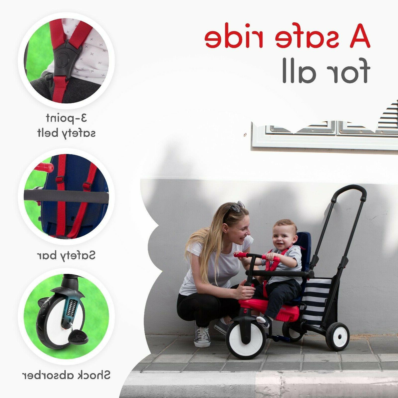 5-in-1 10-36 Months Smart Trike