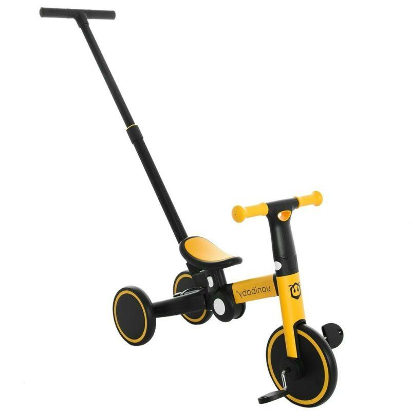 5-In-1 Foldable Bike w/Pushers Kids Tricycle Children Riding