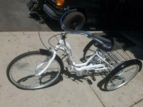 62604 alameda 26 inch folding adult tricycle