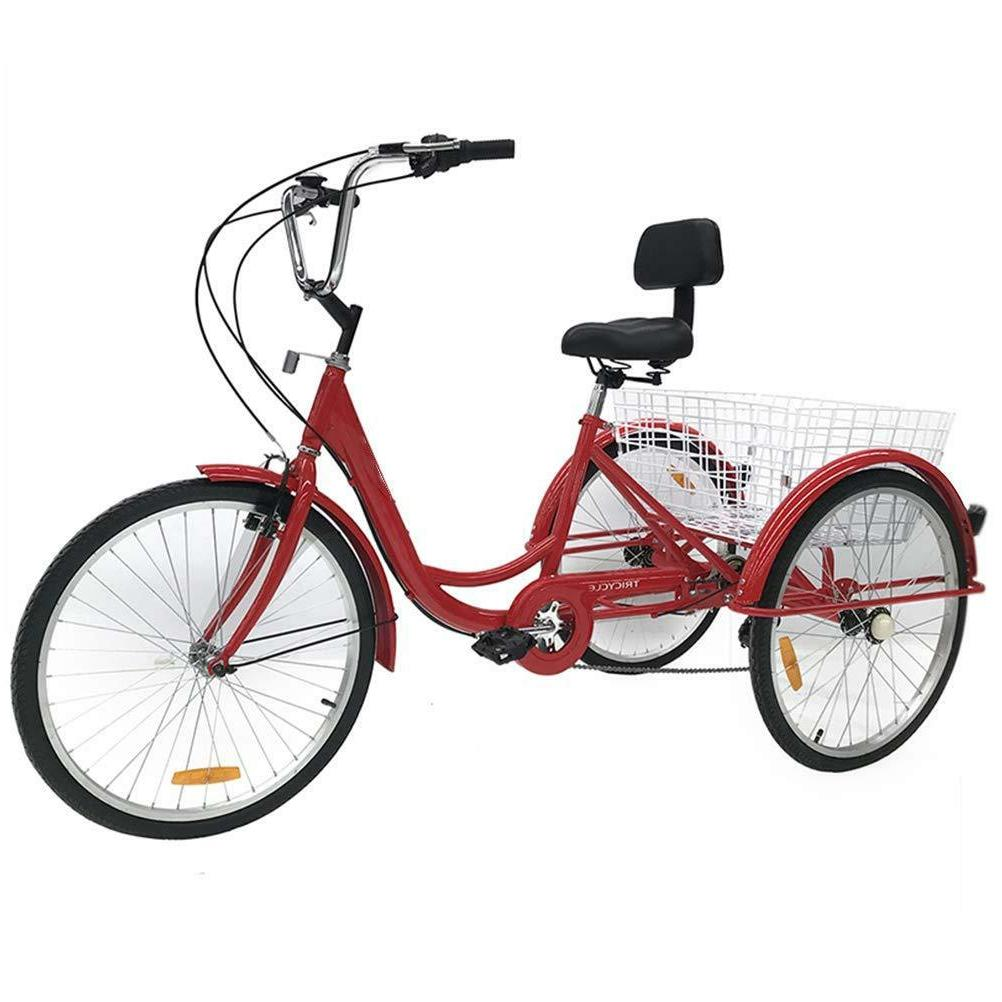 7-Speed Tricycle Trike Bicycle Cruise With