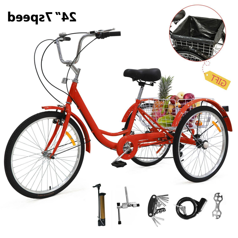 """24"""" Speed Wheels Trike Bicycle US"""