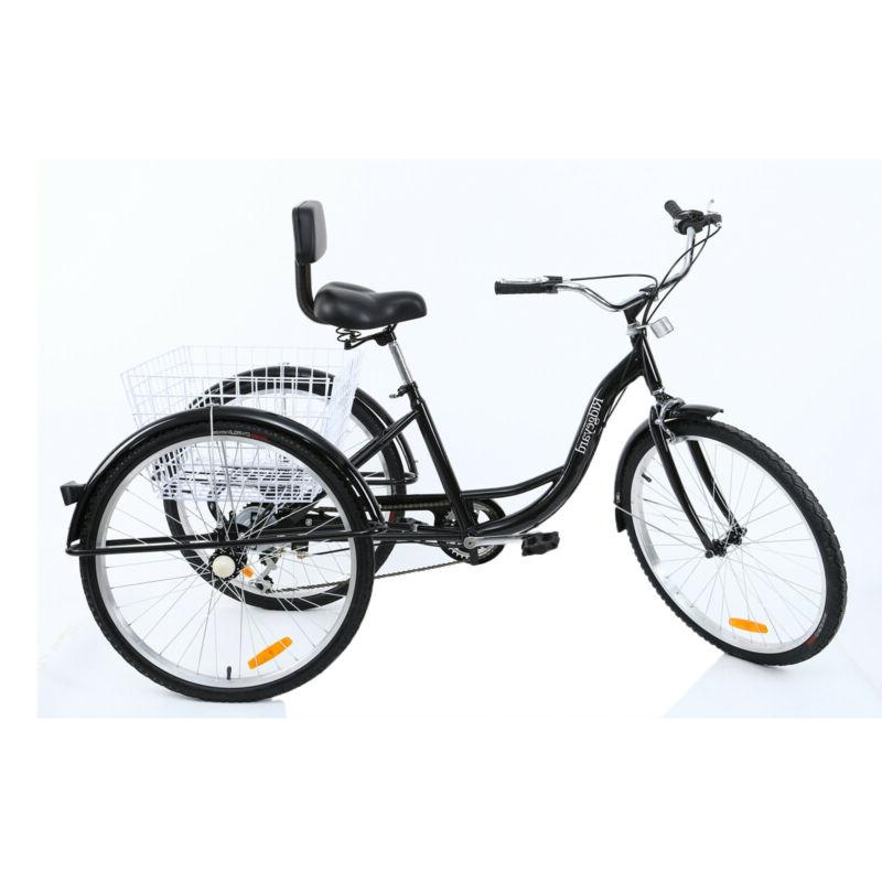 Shimano 3-Wheel Tricycle Bicycle Bike With