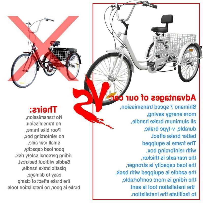 7-Speed Bike