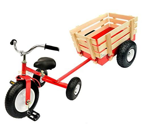 All Terrain Tricycle with Wagon , #CART-042R