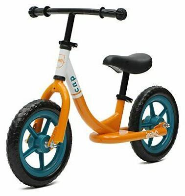 Critical Cycles Cub No-Pedal Balance Bike for Kids, Powder B