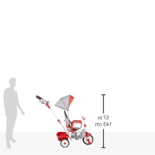 Little 5-in-1 Ride Trike - Red