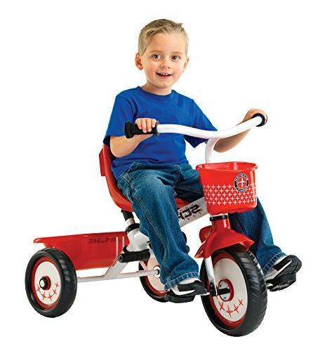 Schwinn Steer Tricycle, Red/White