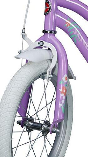 "Schwinn Jasmine Kids Bicycle 16"" wheel size, age 4 with training wheels, girl's"