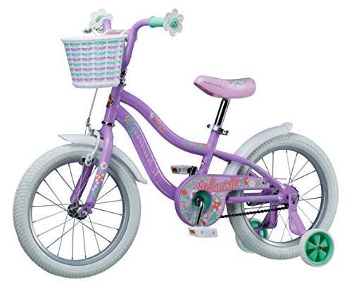 Schwinn Jasmine Kids training wheels, girl's