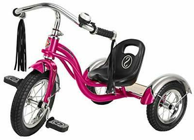 pink 12 roadster tricycle