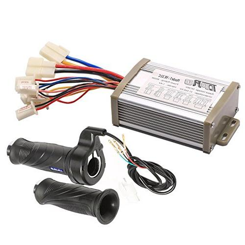 TDPRO 36V 800W Brush Speed Motor Controller and Throttle Gri