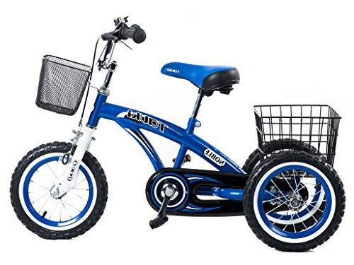 Tauki Kids Tricycle Ride-On Toddler Trike 2 Years Old Grils
