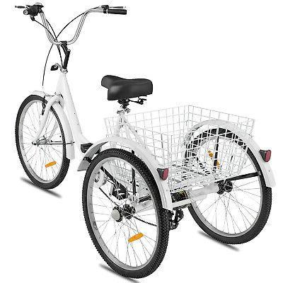 Shimano 7-Speed 3-Wheel Tricycle Trike Bike