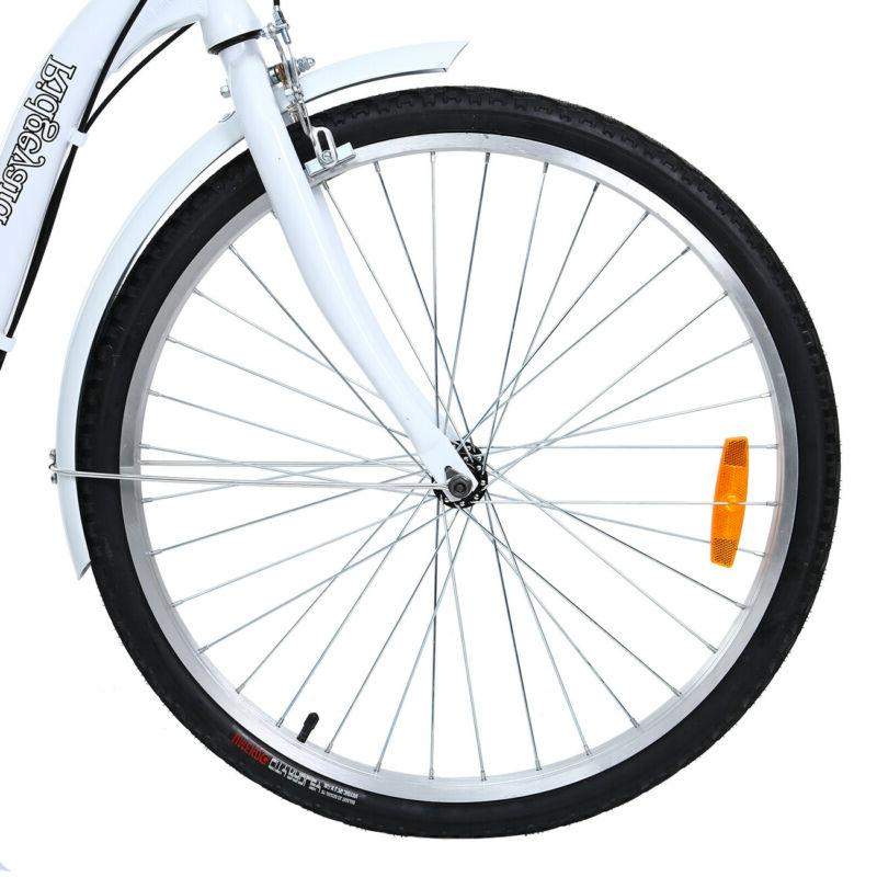 "26"" Tricycle Cruise Double Basket White"