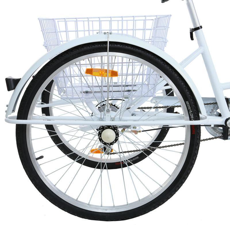 Adult Speed 3-Wheel Tricycle Trike Bike